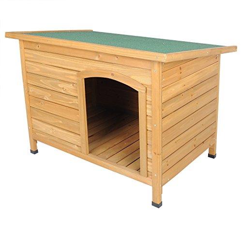 woltu ht2021 xxl hundeh tte hundehaus wetterfest hunde haus h tte massivholz 103x71x66cm. Black Bedroom Furniture Sets. Home Design Ideas